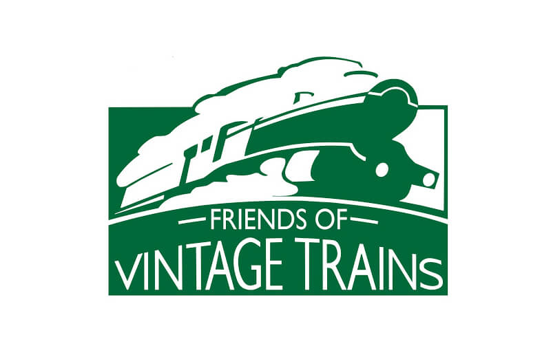 Vintage trains Logo